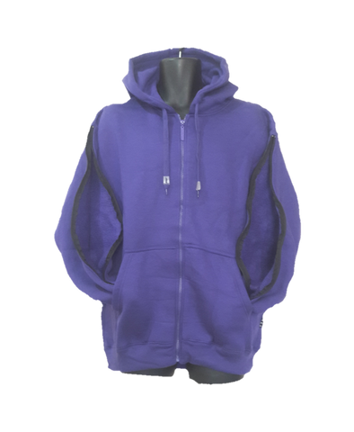 PICC LINE ZIPHOOD DIALYSIS CHEMO - PURPLE