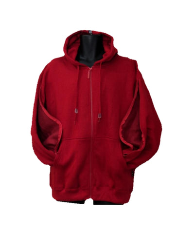 PICC LINE ZIPHOOD DIALYSIS CHEMO - RED
