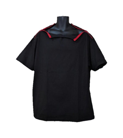 PICC LINE T-SHIRT - BLACK - Red Zip