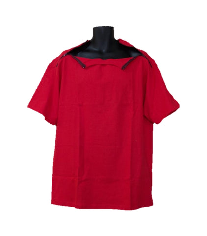 PICC LINE T-SHIRT - RED - Black Zip
