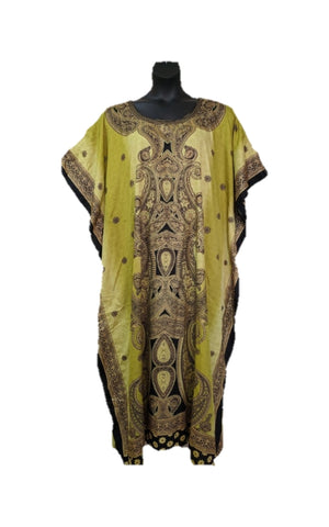Post Shoulder Mastectomy, Breast Cancer Kaftan Dress
