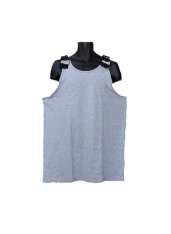 SHOULDER OPEN MEN'S TANK TOP