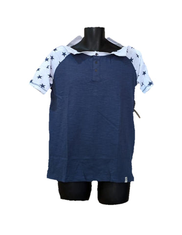 SHOULDER OPEN TSHIRT SHORT SLEEVES- Star