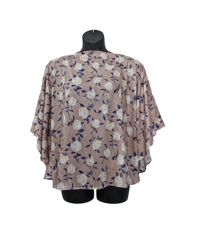 OPEN MASTECTOMY SURGERY SHOULDER KAFTAN TOP