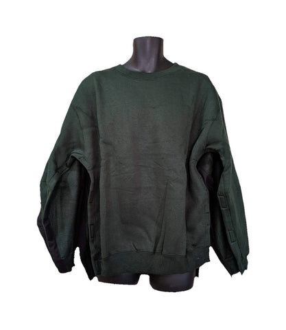BOTH SIDE OPEN SWEATSHIRT - HUNTER