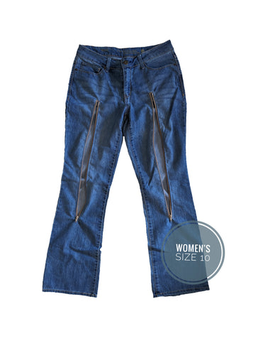 PICC LINE ACCESS DENIM PANTS