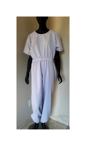 Back Open Jumpsuit Hudini