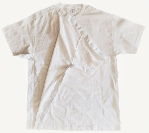 SIDE OPEN TSHIRT for POST OP SHOULDER or ARM SURGERIES - WHITE