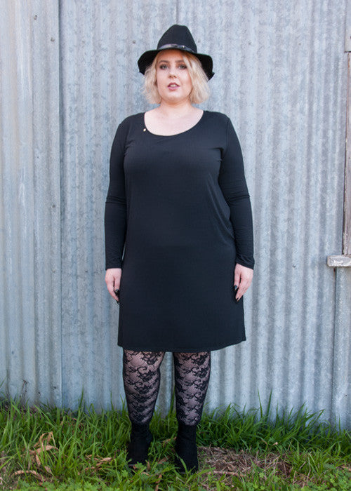 LKD Long Sleeve Everyday Dress