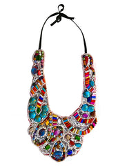 Colourful Nomad Jewelled necklace
