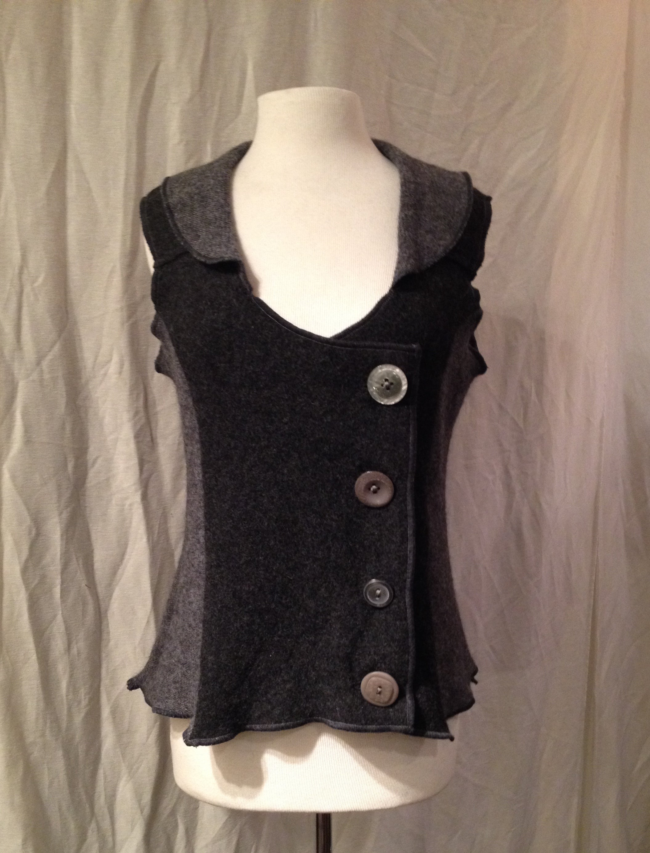 Grey Woman's Vest One-Off