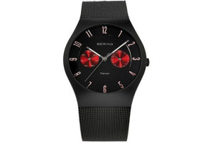 Bering Watch - Gents Classic Black Steel