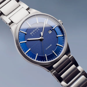 Bering Watch - Gents Titanium Solar