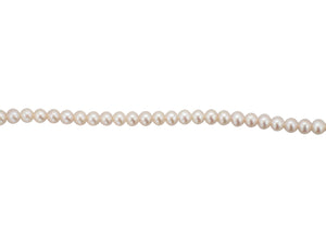 5mm Fresh Water Pearl Necklace - Silver Clasp
