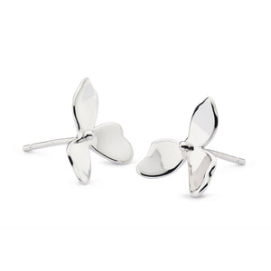 Kit Heath Blossom Petal Bloom Small Stud Earrings