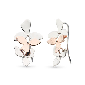 Kit Heath Blossom Bloom Trio Drop Earrings