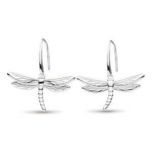 Kit Heath Blossom Flyte Dragonfly Drop Earrings