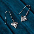 Load image into Gallery viewer, Kit Heath Empire Deco Diamond Shape Drop Earrings