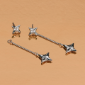 Load image into Gallery viewer, Kit Heath Empire Astoria Star Doublewear Drop Earrings