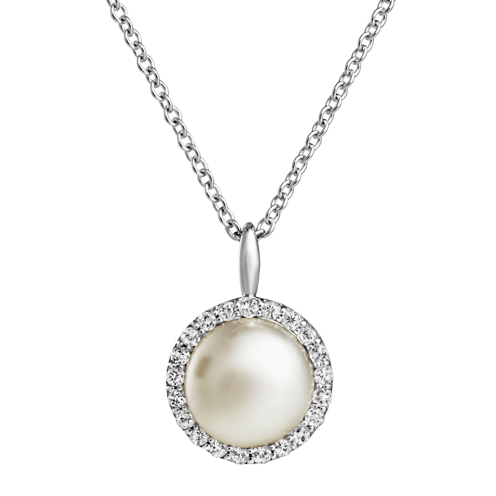 Jersey Pearl Amberely Cluster Pendant