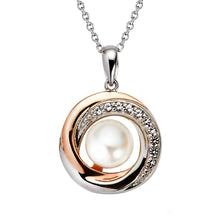 Load image into Gallery viewer, Jersey Pearl Camrose Swirl Pendant
