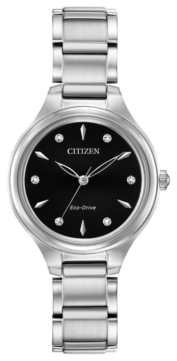 Ladies Citizen Watch - Eco Drive Corso with Diamonds