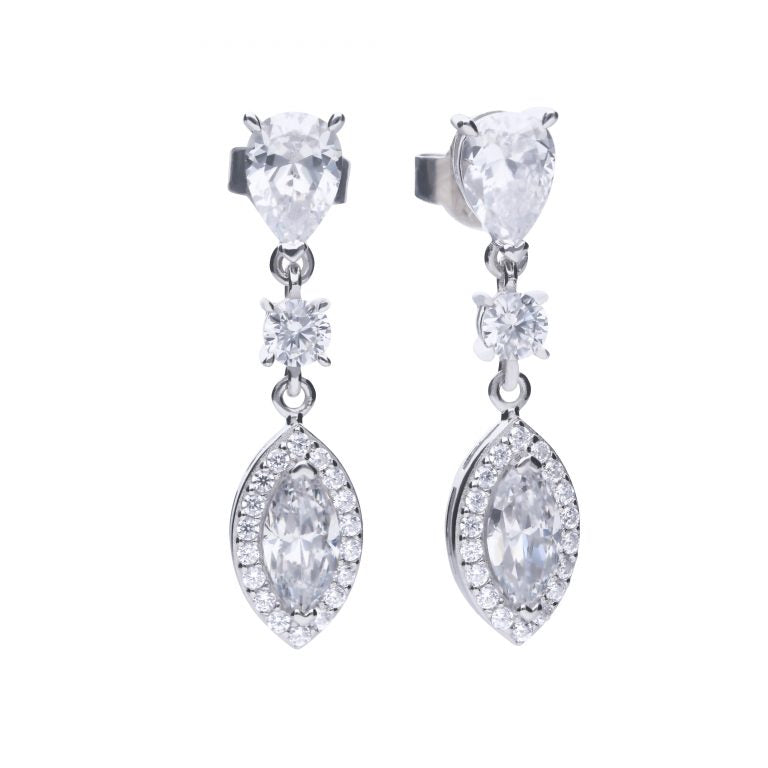 Diamonfire Marquise Drop Earrings