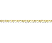 "Load image into Gallery viewer, 9ct Gold Filed Curb Chain - 20"" Men's"