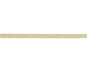 "9ct Gold Filed Curb Chain - 20"" Men's"