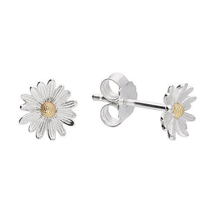 April Daisy Birth Flower Earrings