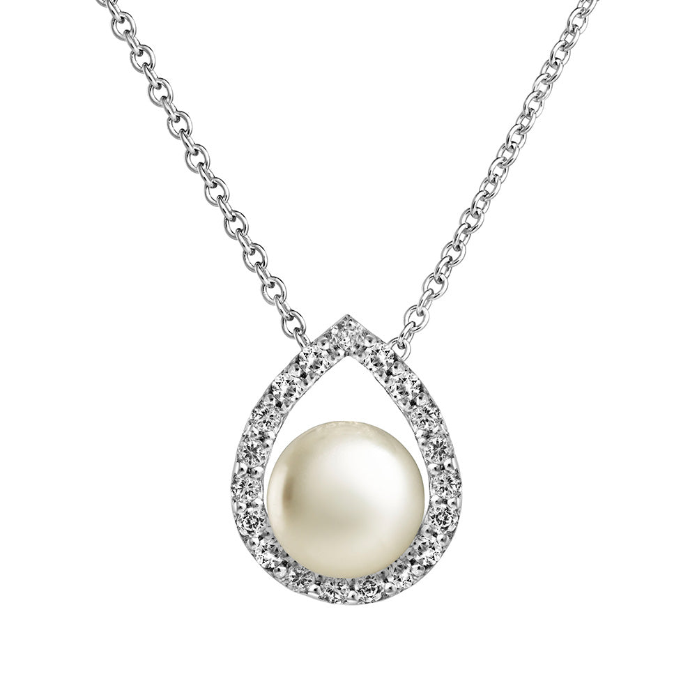 Jersey Pearl Amberely Cradle Pendant