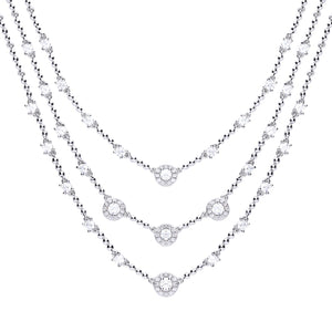 Diamonfire Cubic Zirconia Necklet