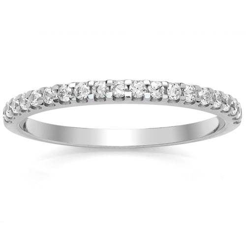 Claw Set Eternity Ring - 0.25ct