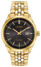 Load image into Gallery viewer, Citizen Eco-Drive Watch - Mens Gold Plated