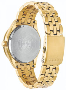 Citizen Eco-Drive Watch - Mens Gold Plated
