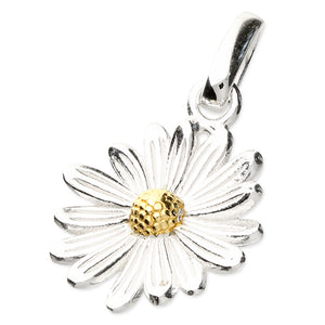 April Daisy Birth Flower Necklace