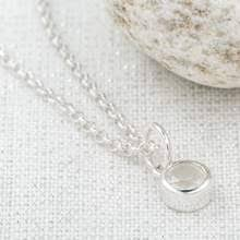 Load image into Gallery viewer, Lily Charmed June Birthstone Necklace - Moonstone