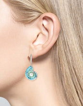 Load image into Gallery viewer, Nicole Barr Nautilus Shell Earrings