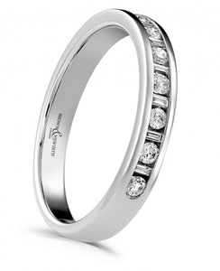 18ct White Gold 'Charm' Eternity Ring
