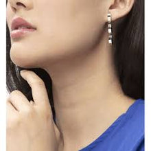 Load image into Gallery viewer, Calvin Klein Wavy Drop Earrings