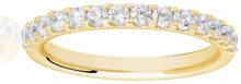 Load image into Gallery viewer, Claw Set Eternity Ring - 0.50ct