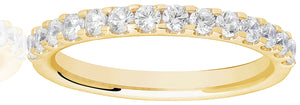 Claw Set Eternity Ring - 0.50ct