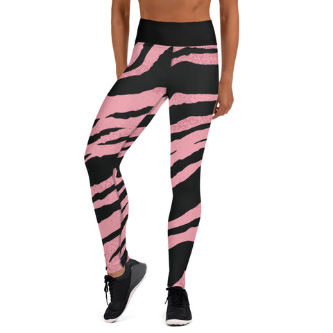 Leggings de yoga/ pink tiger