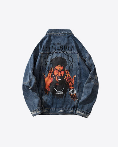 Rapper Denim Jacket