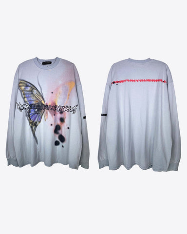 Butterfly Touched Long Sleeve