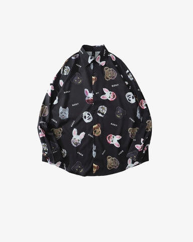 Furry Frnds Button Up