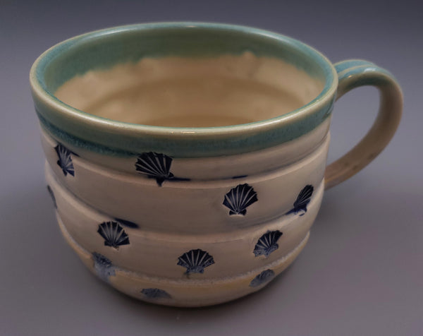 White Stoneware 24oz Soup Mug