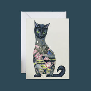 Black Cat - Card - Pack of 6