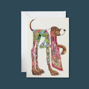 Hound -  Card - Pack of 6
