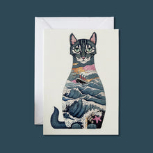 Load image into Gallery viewer, Ship's Cat - Card - Pack of 6